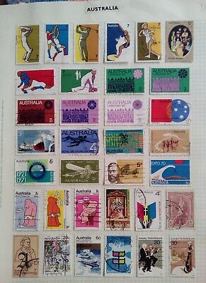 Stamps Used Mm Australia D