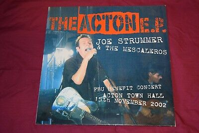 Joe Strummer Clash Mescaleros Rare Acton Ep Limited Edition 0096 Mint Unplayed