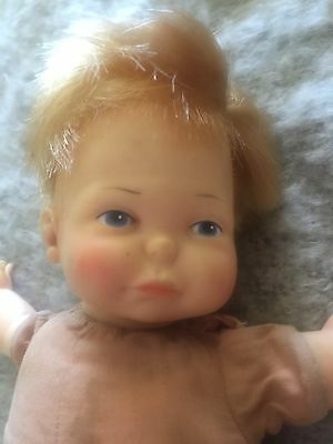 "RARE Original Tagged, 1967 - 9"" Newborn Thumbelina By Ideal  Adorable TT-9-1238"