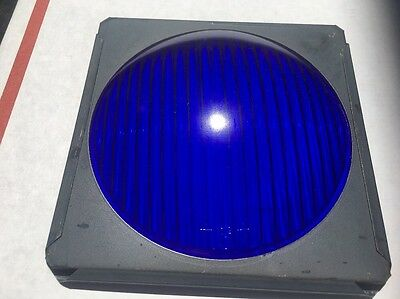 Osram Replacement GLASS Lens BLUE Stage Lighting Stop Light New Old Stock