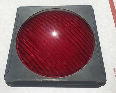 Osram Replacement GLASS Lens RED Stage Lighting Stop Light New Old Stock