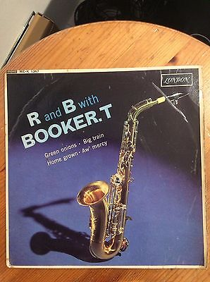 BOOKER T AND THE M.G.'S - R&B with Booker T - 1963 London 7' EP
