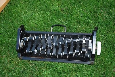 Qualcast Quick Exchange lawn Scarifier  43cm 17in Never Used QX system
