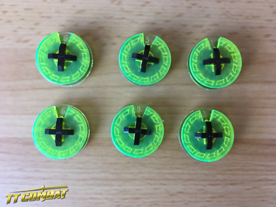 TTCombat – Small Wound Dials (Acid Green) TTCM052