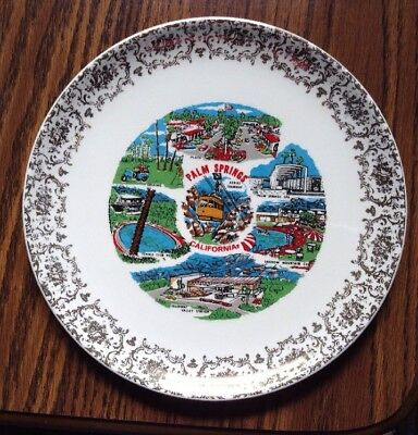 Palm Springs California 9 Inch  Collector Plate