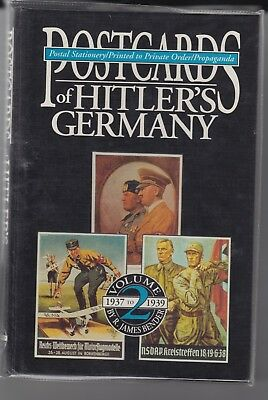 Postcards of Hitlers Germany Vol 2 - Stationary, Cards, Propaganda Book