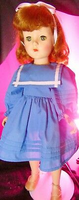 Vtg Sweet Sue Retro Doll American Character Walking Toy Red Hair Home Figure Nyc