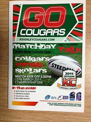 2011 Keighley Cougars v London Skolars