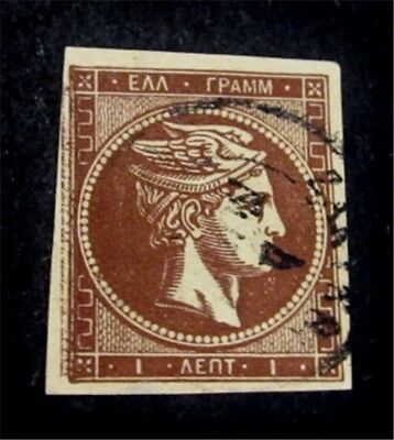 nystamps Greece Stamp # 32 Used $325