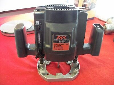skil plunge router. skil 1.5 hp plunge router model 1823 l