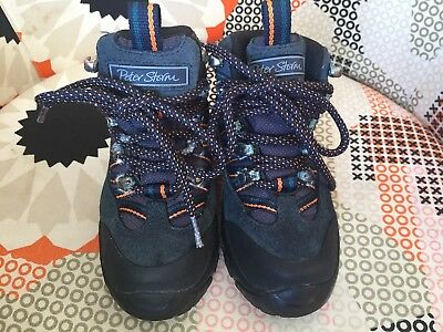 Peter Storm Boys' Waterproof Walking/Hiking Boots with Vibram Sole Size 10/28