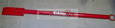 CH6 Eskimo 3lb Exclusive Little Short Ice Chisel Spud Bar With Eye Hook SALES