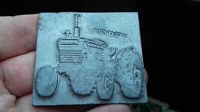ford tractors printing block/plate