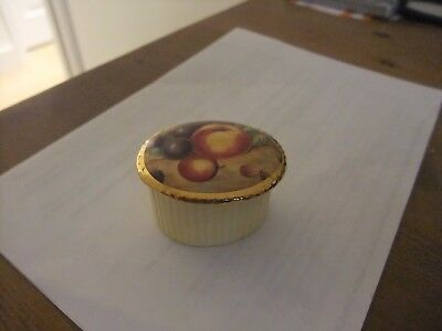 Splendid Aynsley Orchard Gold Pill Box