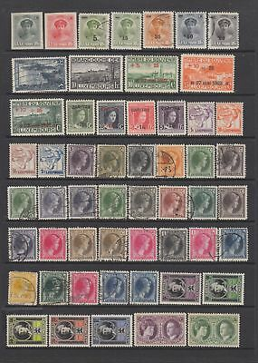 Luxembourg 1922- 1935 collection , 86 stamps.