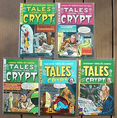 $125 OFF 46 EC horror reprints in 3 beg runs 1992-96, NM-; Tales From The Crypt