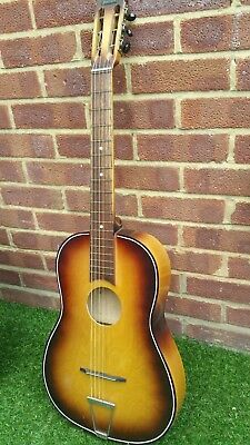 Vintage Madrigal Parlour Guitar Made In Germany.