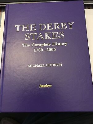 Horse Racing. The Derby Stakes Signed By Michael Church