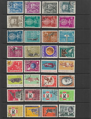 Albania 1962 - 1963 collection, 55 stamps.