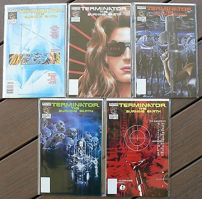 81% OFF Terminator Burning Earth & Futures Past, Now 1990-92; NM 9.4 ave!
