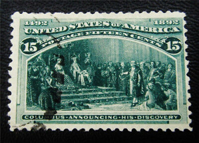 nystamps US Stamp # 238 Used $83