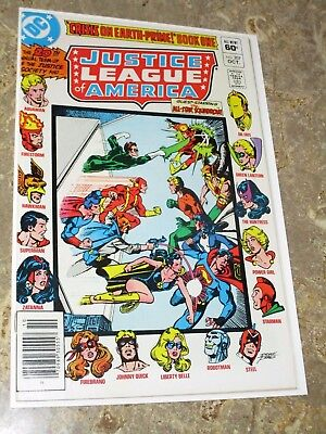 DC Comics JUSTICE LEAGUE #207 Justice Society All-Star Squadron High Grade