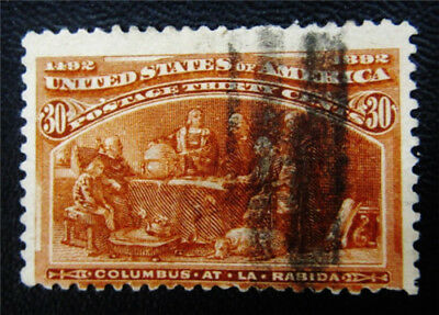 nystamps US Stamp # 239 Used $100