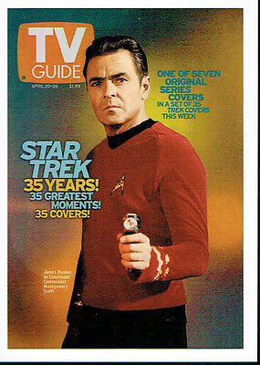 The Quotable Star Trek Captains Tv Guide Cover Tv5
