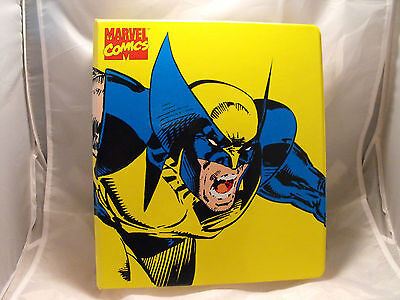 Marvel Wolverine Collectors Binder.