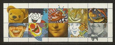 """GB Stamps: 1990 Greetings Stamps """"Smiles"""""""