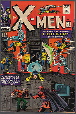The X-Men Issue Number 20 By Marvel Comics