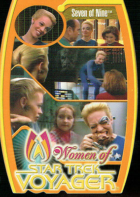 Star Trek Women Of Voyager Morfex Card M5