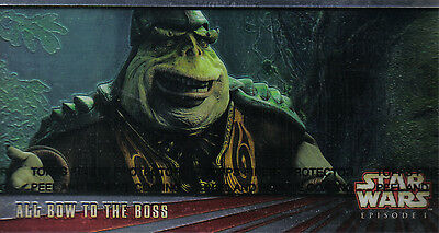 Star Wars Episode 1 Series 1 Widevision Promotional Card 00