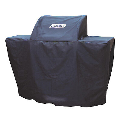Coleman Deck and Patio Heavy Duty Gas 4 Burner Barbecue Grill Cover, Black