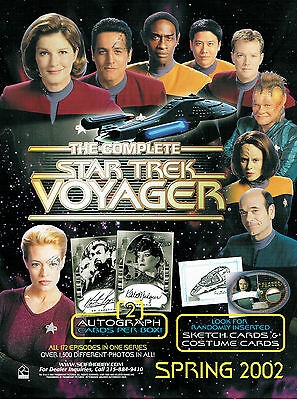 Complete Star Trek Voyager Promotional Sell Sheet