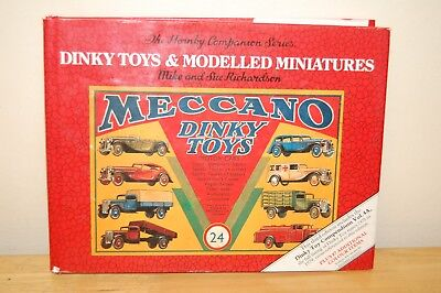 Dinky Toys & Modelled Miniatures By Mike & Sue Richardson Book