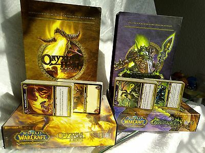 World of Warcraft - Onyxias Hort & Magtheridons Raid Deck WoW OHNE Schatzkarten
