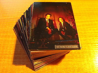 X Files Season 2 Complete Set Of 72 Parallel Foil Cards