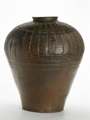 Antique South East Asian Martaban Signed 18Th C Or Earlier