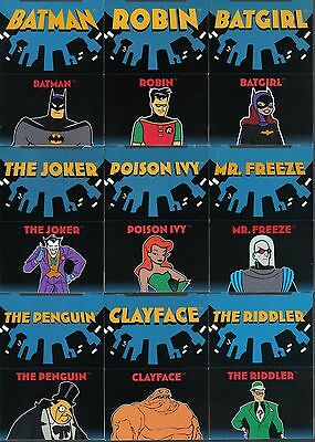 The Adventures Of Batman And Robin: Set Of 12 Pop Up Cards