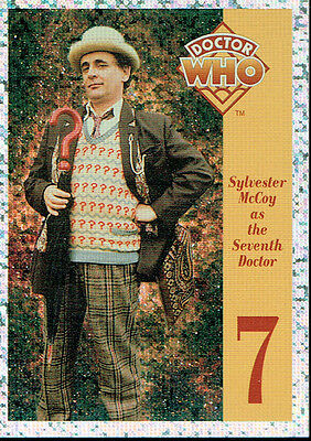 Doctor Who Cornerstone Series 1 Foil Card 7