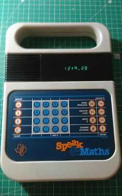Vintage Speak & Maths Texas Instruments same series as Speak And Spell