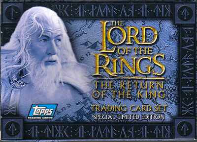 Lord Of The Rings Return Of The King Uk Preview Set Of 20 Cards