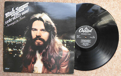 Bob Seger & The Silver Bullet Band Stranger In Town  Vg++   Hollywood Nights Etc