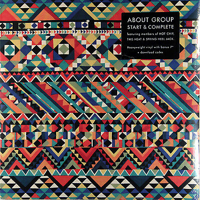 "About Group - Start & Complete (RSD 2011 Limited Vinyl + bonus 7"") New & Sealed"