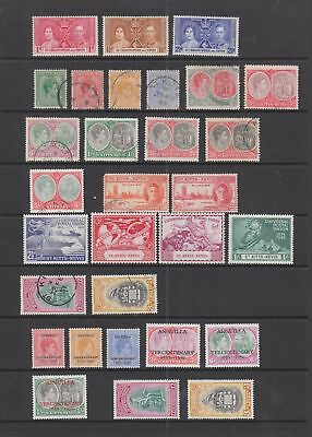 St Kitts Nevis KGVI collection,