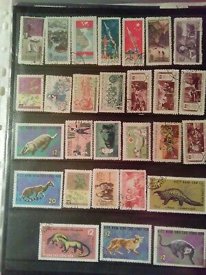 Stamps Used Mm North Vietnam