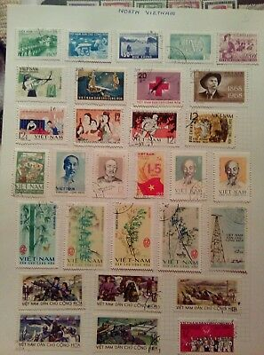 Stamps Used Mm North Vietnam D