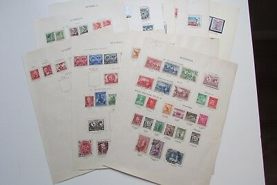 XL2853: Comprehensive Collection of Australia Stamps (1936 – 64).