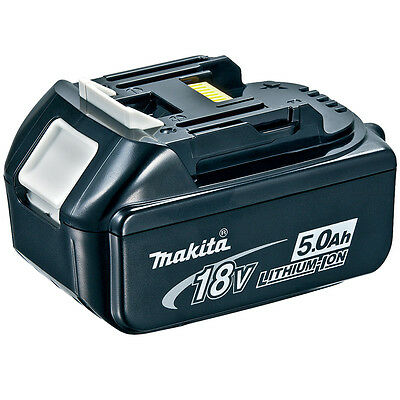 MAKITA BL1850 18v LXT 5.0Ah Li-Ion BATTERY - BRAND NEW AND GENUINE!